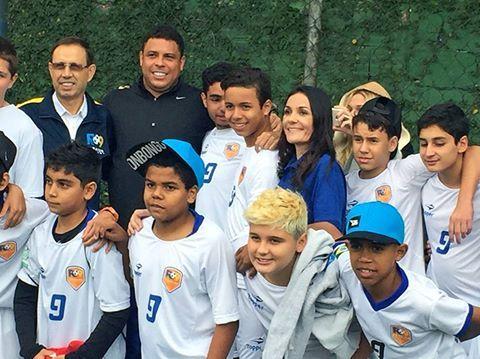 "A Onbongo está presente no mais novo projeto do ""Fenômeno"": A Ronaldo Academy - #BePhenomenal #Onbongo"