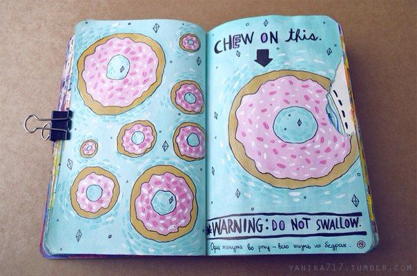 Wreck this journal/Уничтожь меня