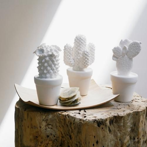 porcelain cactus. i love these. can't find them anymore.