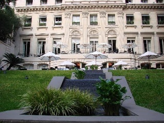 The Park Hyatt-Palacio Duhau in Buenos Aires: one of my favorite bars in the world.