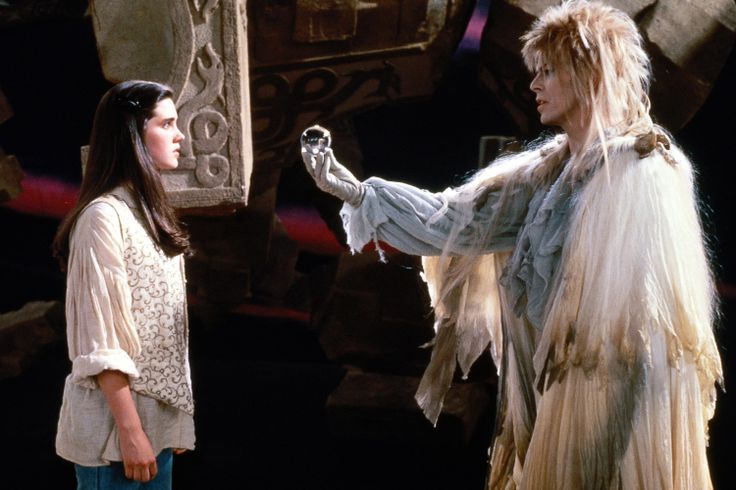 Jennifer Connelly and David Bowie - Labyrinth (1986)