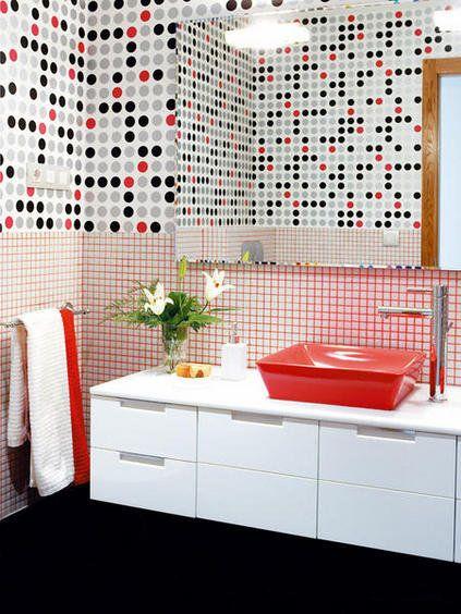 Baños atrevidos y con color