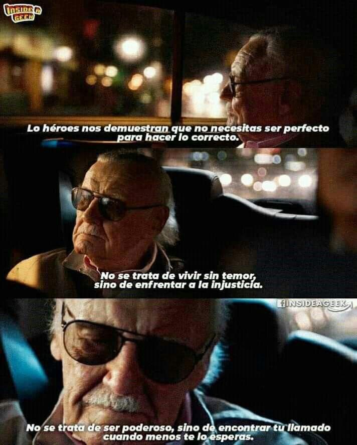 Stan Lee Marvel Personajes De Marvel Y Memes De Superhéroes