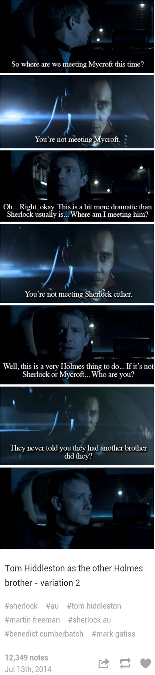 The Other Holmes... PLEASE LET THIS HAPPEN!!!!!