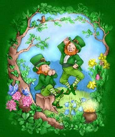 The luck of the Irish....Top of the morn'in to ya, and the rest of the day to you,