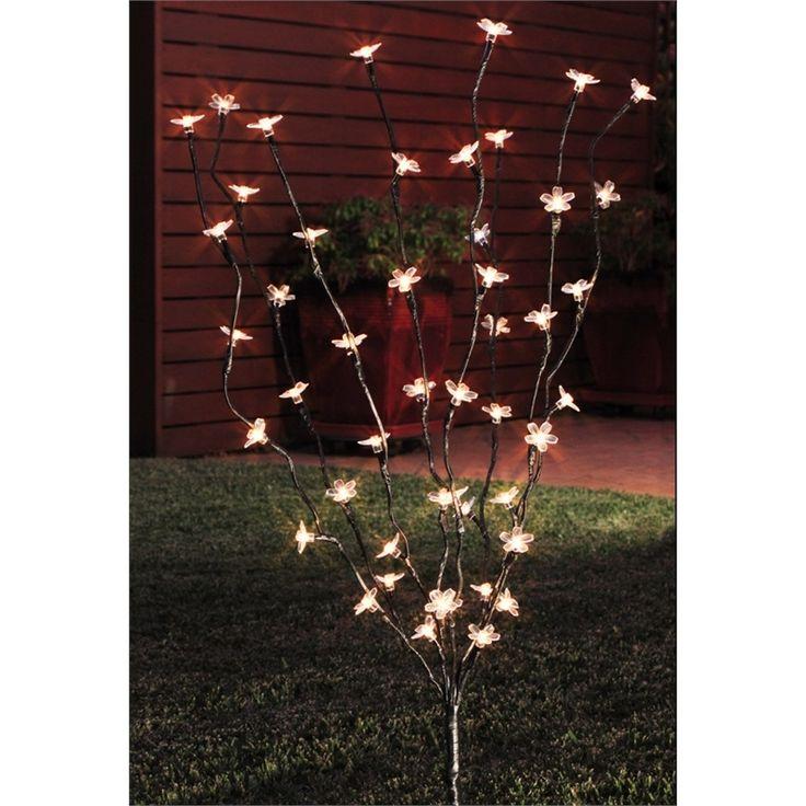 Lytworx 48 LED Warm White 2 Function Blossom Tree Solar Light