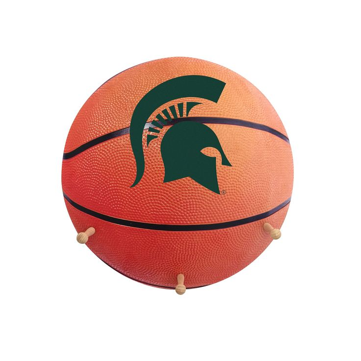 Michigan State Spartans Basketball Coat Hanger, Multicolor