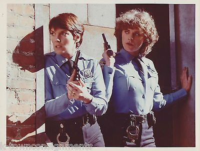 Tyne Daly & Meg Foster Cagney & Lacey TV Movie Actor Vintage Press Photo