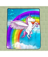Unicorn Flying Horse Cartoon rainbow new hot cu... - $27.00 - $35.00