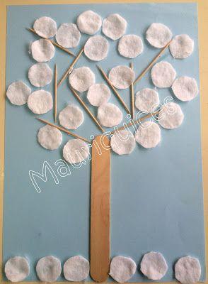 Mauriquices: Folhas brancas...
