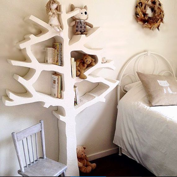 childrens toyshelf//tree//modern shelf