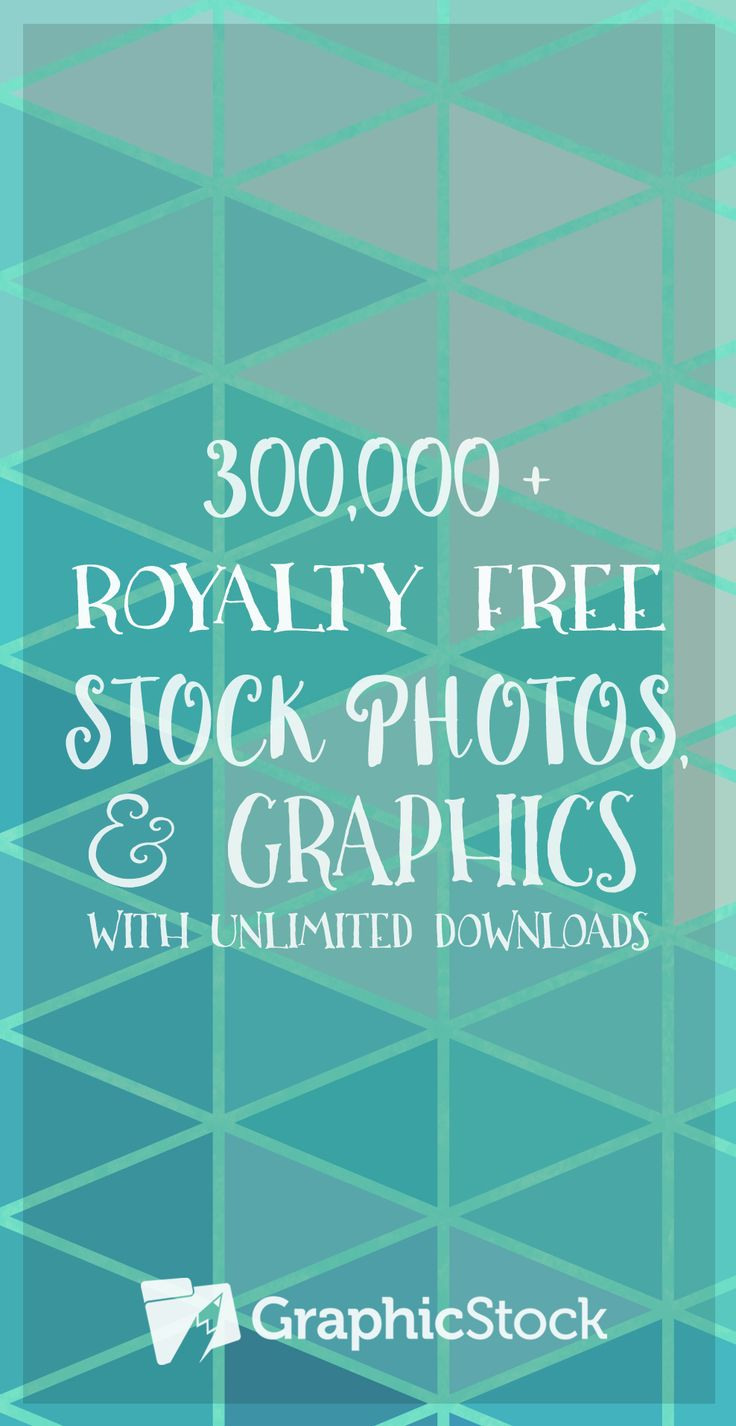 Don't miss out on the ultimate creative resource!  The GraphicStock unlimited subscription comes with royalty-free access to over 300,000 stock photos, vectors and design elements.  Get a whole year of unlimited downloads for only $99!