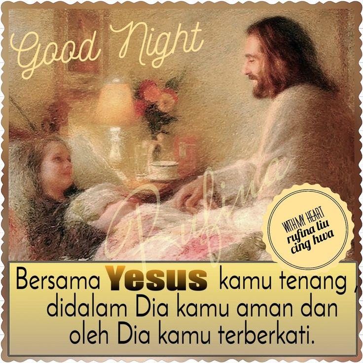✿*´¨)*With My Heart 💐🌼 ¸.•*¸.• ✿´¨).• ✿¨) (¸.•´*(¸.•´*(.✿ GOOD NIGHT....GBU ~  Mazmur Daud. (62-2) Hanya dekat Allah saja aku tenang, dari pada-Nyalah keselamatanku.