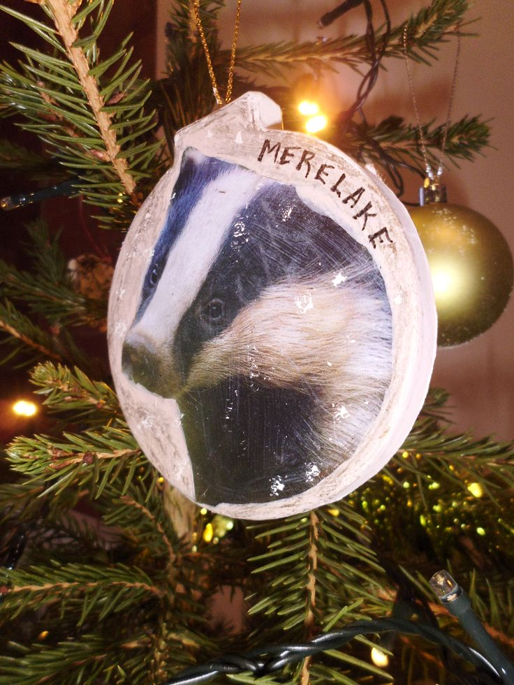 'Local wildlife bauble' for Alsager Town Council's Christmas tree, November 2015.