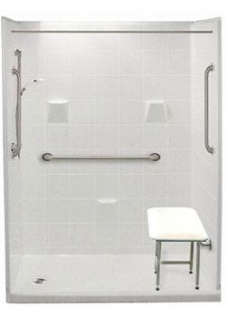 Freedom Easy Step Showers | Walk in Showers | Easy Access Walkin Shower Stalls
