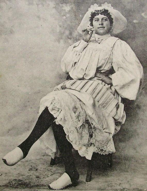 Les SablesD'Olonne France  'La Belle Sablaise' Woman by ChicEtChoc, $4.50