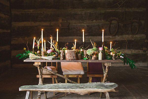 Dinner Candles Romantic Back Yard