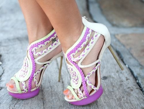 1000  images about Cute high heels on Pinterest | Too cute, Polka ...