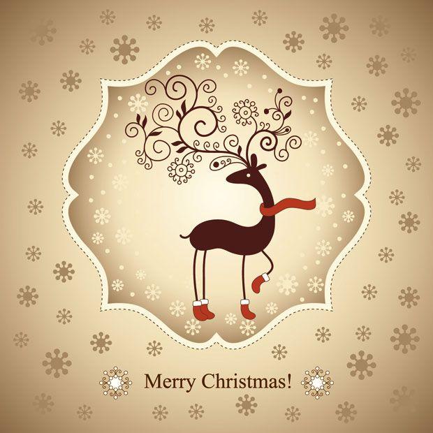 Christmas cards post navigation cute Xmas cards
