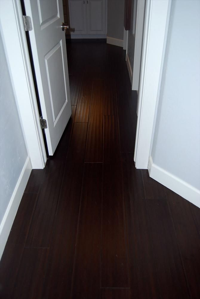 BuildDirect: Bamboo Flooring Handscraped Bamboo Floors   Espresso