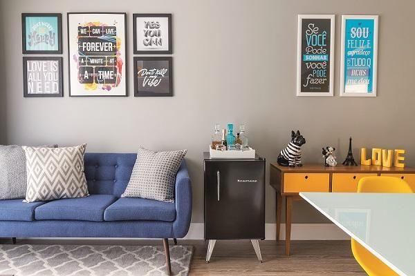 Lar de um casal jovem e descontraído, o apartamento paulistano comprado na planta ganhou um projeto que expressa a personalidade dos moradores