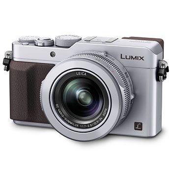 Kompakta Panasonic Lumix DMC-LX100 silver