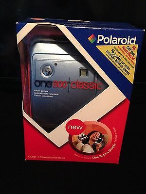 Polaroid One600 Classic Blue Instant Film Camera New SEALED in Original Package 074100419130 | eBay