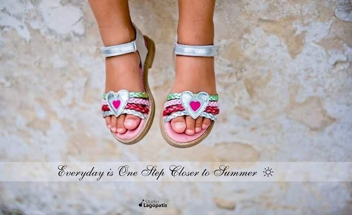 Everyday is One Step Closer to #Summer // #sunnydays #sunshine #walkingonsunshine #christening #babyshoes #girly #summershoes #christeningphotography #baptism #Greece #summeringreece www.lagopatis.gr