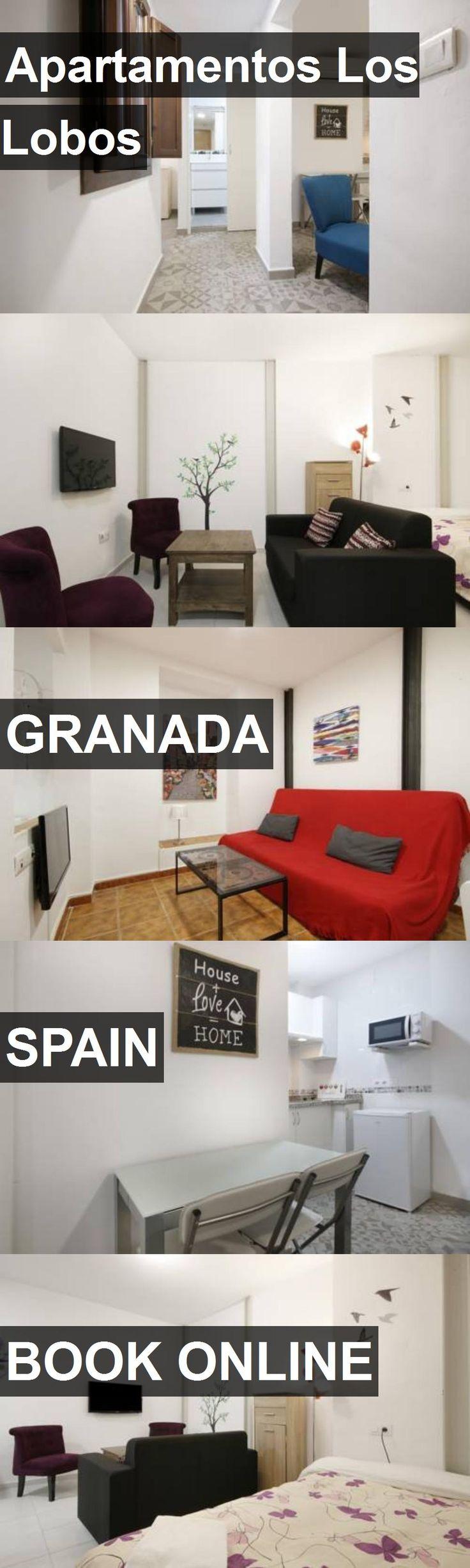 Hotel Apartamentos Los Lobos in Granada, Spain. For more information, photos, reviews and best prices please follow the link. #Spain #Granada #travel #vacation #hotel