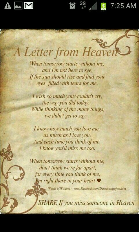 letter about missing someone best 25 miss you ideas on missing 19380 | 7041f1230bfdd59093517d7beeb0b262 letter from heaven missing someone