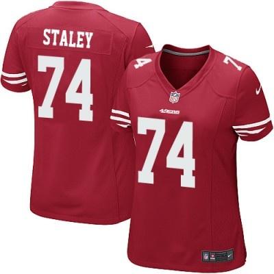 and I REALLY want a joe staley jersey. that's my boyyy. Red TeamNike NflNfl  JerseysSan Francisco 49ersWomen ...