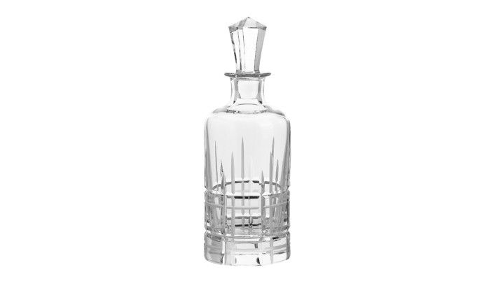 Christofle, Scottish Crystal Whiskey Decanter - Buy Online at LuxDeco