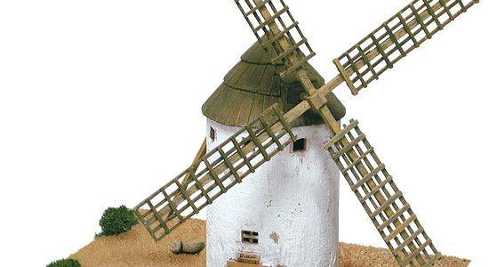 Hiszpańskie wiatraki z La Mancha – model Aedes Ars