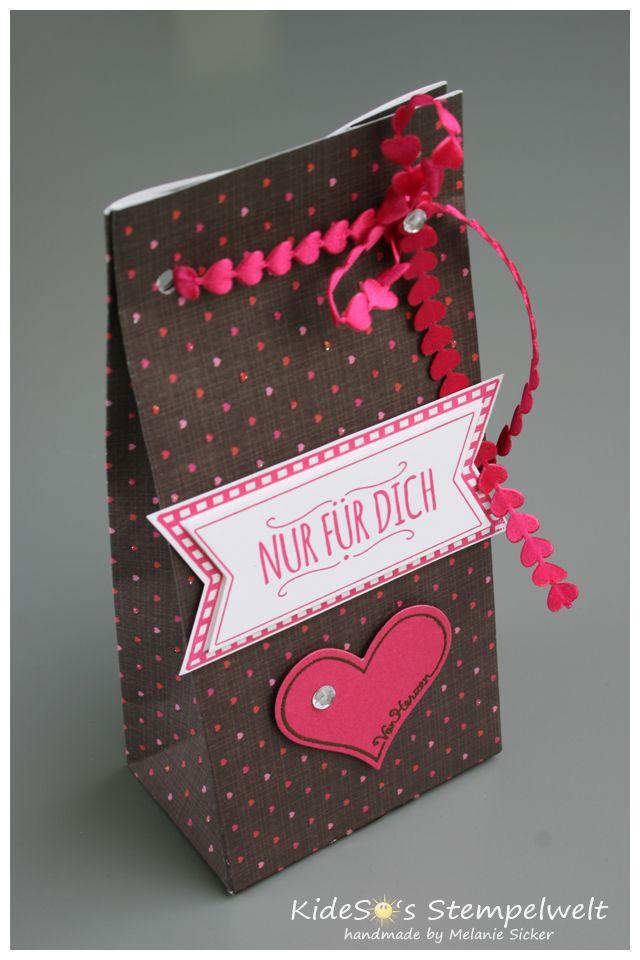 Gift Bag Punch Board, Stanz- und Falzbrett für Geschenktüten, Stampin' Up! Kidesos Stempelwelt