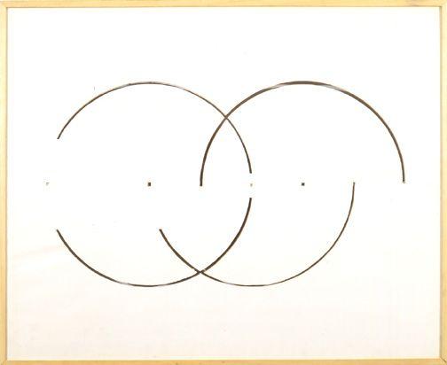 cut drawing Gordon Matta Clark