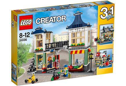 36,95e LEGO Creator 31036 Lelu- ja ruokakauppa