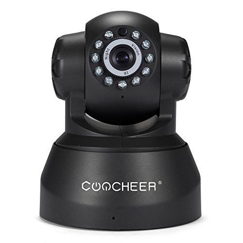 coocheer p2p cam ra de surveillance sans fil hd 720p pan tilt camera ip interieur wifi avec. Black Bedroom Furniture Sets. Home Design Ideas