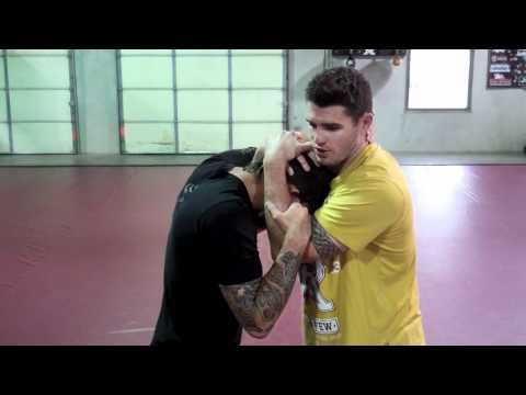 How to Enter the Clinch and Throw Knees - MMA & Muay Thai - YouTube