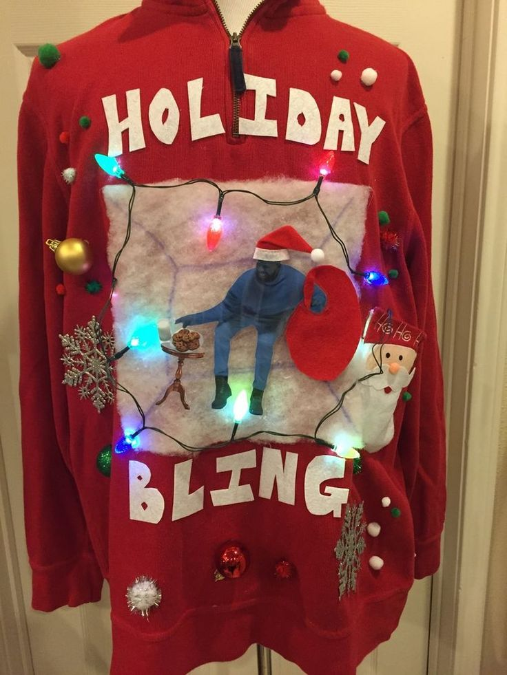 Diy funny ugly christmas sweaters