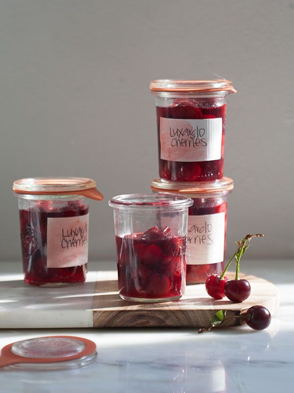 Homemade Luxardo Maraschino Cherries