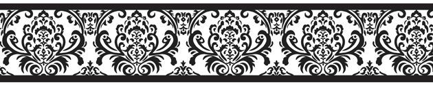 Baby's Own Room - Isabella Black and White Damask Wall Border, $17.99 (www.babys... - http://centophobe.com/babys-own-room-isabella-black-and-white-damask-wall-border-17-99-www-babys/ -  - Looking for a change for your walls? http://centophobe.com/babys-own-room-isabella-black-and-white-damask-wall-border-17-99-www-babys/