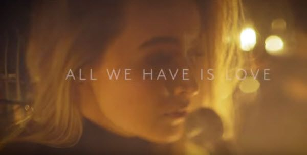 """So looking forward to Sabrina Carpenter's album Evolution! You can pre-order it now! :) Here is the link.  Plus, her song """"All We Have Is Love"""" is feature"""