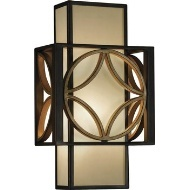 nice colors and design for this wall sconce. $175.00