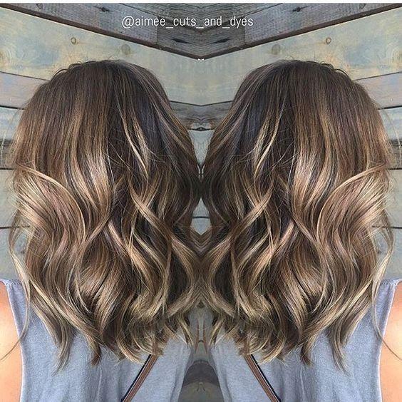 Balayage Medium Wavy Hairstyles – Lovely Medium Length Haircuts