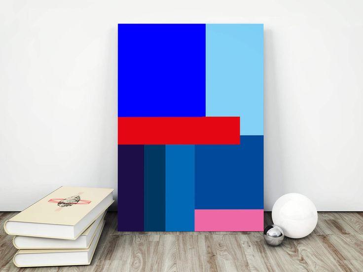 Abstraktes Poster, Bauhaus Poster, Bauhaus Kunstdruck, Abstrakte Kunst, Bauhaus Print , Bauhaus, Digitaler Print, Abstrakte Wanddeko von FineArtHunter auf Etsy