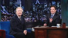 Watch Late Night With Jimmy Fallon: Alan Rickman Hurt His Knee in Die Hard online | Free | Hulu