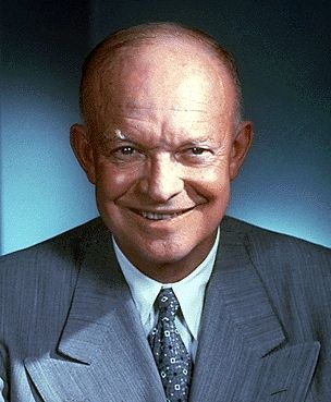 Dwight Eisenhower; President of the United States