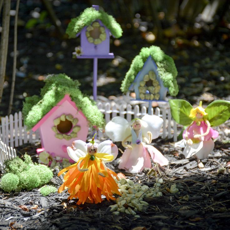 DIY Kids' Fairy Garden - how to make a fairy garden and accessories to go in it - fun and easy crafts for kids - crafts to encourage kids' imagination and sensory skills