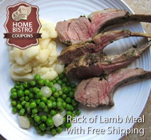 Home Bistro Rack of Lamb Prepared Meal. 100s of Chef Prepared Meals to Choose from with Free Shipping from here: http://www.prepared-meals.com/Meal-Delivery-Services/Home-Bistro-Reviews.html