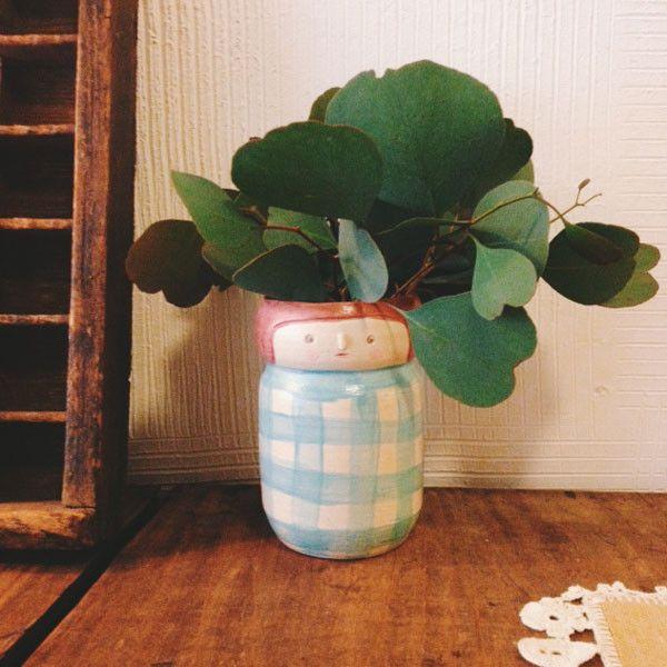Polkaros Flower Pot/Vase #02   UGUiSU Online Store